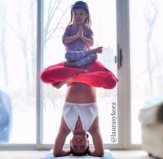 Another amazing yoga mom, minus the breastfeeding | BabyCenter Blog