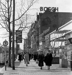 Kurfürstendamm in Berlin, 1954