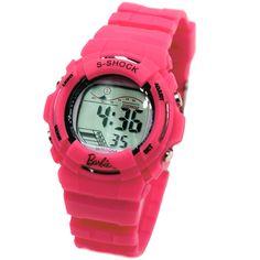 DW209E Round Chronograph Alarm BackLight waterdicht Ladies Vrouwen Digital Watch