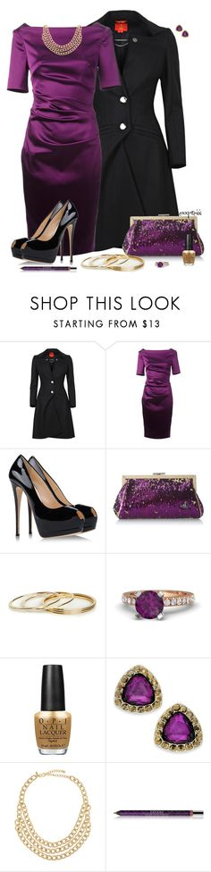 """Holiday Party Time"" by exxpress ❤ liked on Polyvore featuring Vivienne Westwood, Talbot Runhof, Giuseppe Zanotti, DailyLook, Gemvara, OPI, Style & Co., Kenneth Jay Lane, By Terry and outfitonly"