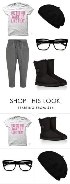 """""""you did not wake up like that."""" by cascats-x3 ❤ liked on Polyvore featuring UGG Australia, ZeroUV and Helmut Lang"""