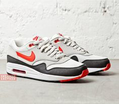 Nike Air Max 1-Challenge Red-Pale Grey