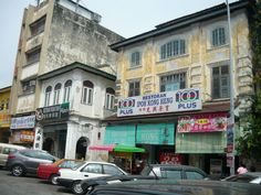 Ipoh - Kong Heng Kopitiam at Jalan Bandar Timah Ipoh Old Town