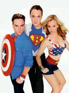 Heroes of The Big Bang Theory