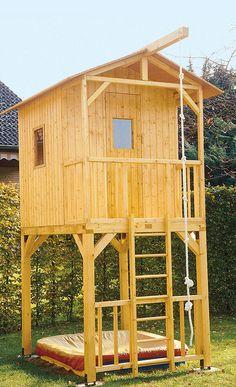 spielhaus kuckuck baumhaus f r kinder von baumhaus f r kinder. Black Bedroom Furniture Sets. Home Design Ideas