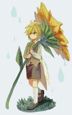 Vocaloid - Kagamine Len art