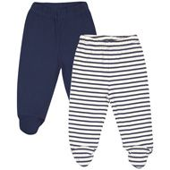 2-Pack Baby Leggings with Feet