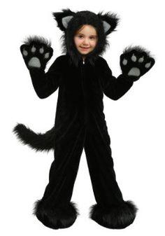 7f34845d4e Premium Black Cat Kids Costume Fata Costume Fai Da Te, Costumi Da Gatto Nero ,