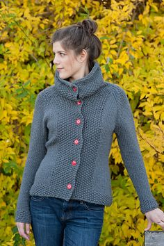 Katrine Cardigan By Cecily Glowik MacDonald - Purchased Knitted Pattern - (ravelry)