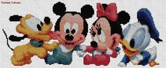 Punto de cruz de Disney bebé - Imagui