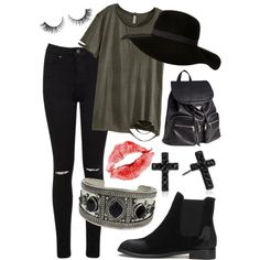 casual ... by melissa-casu on Polyvore featuring polyvore, mode, style, H&M, Miss Selfridge, Betsey Johnson and Topshop