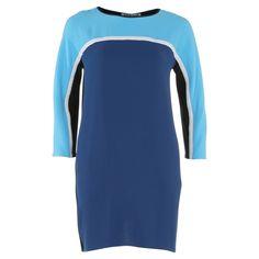 Jurk Bow Cover Olympia Blue van  Vanilia; sporty boxy model  | Dresses Only