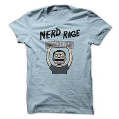 I Love Nerd Rage Shirts & Tees