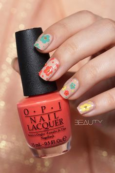 DIY Nail Art Easter and Spring