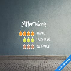After Work — Essential Oil Diffuser Blend