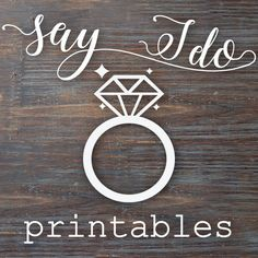 You searched for: SayIDoPrintables! Browse the unique items that SayIDoPrintables creates, and discover the perfect gift! At Etsy, we pride ourselves on our community of creative sellers, like SayIDoPrintables! Each Etsy seller helps contribute to a global marketplace of creative goods. By supporting SayIDoPrintables, you're supporting a small business, and, in turn, Etsy!