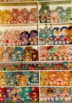Care Bears.  I'm jealous.  I'm 31 years old, and I envy this person.