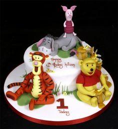 winnie the pooh cake designs | Winnie the pooh cake