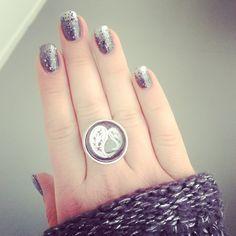Nails nailart ring diy