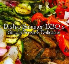 summer BBQ vegetables grilled BTG