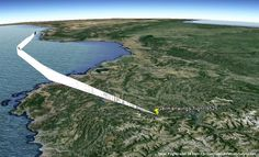 Crashed Germanwings Flight 9525 3D Flight Path - Aviation Videos & Pictures
