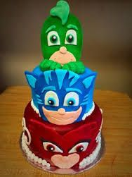 Resultado de imagen para pj mask cakes