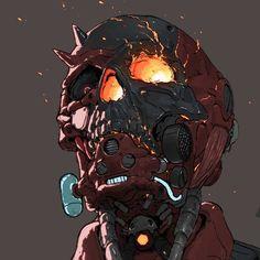 Just an artist, at home Creature Concept Art, Creature Design, Wallpaper Animes, Arte Obscura, Arte Horror, Cyberpunk Art, Dark Fantasy Art, Dope Art, Character Design Inspiration