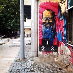 Street art in denizli/Turkey