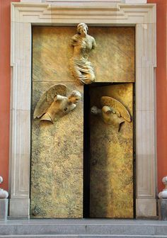 DOORS WITH ANGELS in POLAND