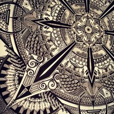 "Intricate Tangles by Celiline on Tumblr at ""Draw Something"" / more on Imstagram @ ""Celiline_art"""