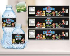 Contreras Crafts & Creation Shop - Water Bottle Labels Products This Listing is for Personalized Water Bottle Labels with a lovely modern design feel. *** FOR PRINTED LABELS*** WE Print On a GLOSSY, WATER RESISTANT, PEEL N STICK PAPER All customization will be done by us, you just