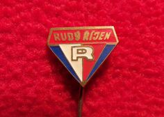 Badge pin Rudy rijen - Red October - Rudý říjen   Sports Mem, Cards & Fan Shop, Vintage Sports Memorabilia, Pins   eBay! Mem, Pin Badges, October, Ebay
