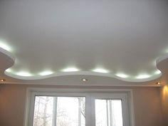 House Design, Ceiling Light Design, Lighted Bathroom Mirror, Living Room Ceiling Wallpaper, Pop False Ceiling Design, Home Decor Decals, Home, Home Decor, Ceiling Lights