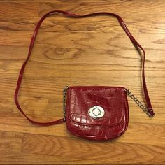 Crossbody bag Super cute red Crossbody bag! Has been used before but still in good condition. Target Bags Crossbody Bags