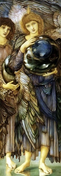 Sir Edward Burne-Jones,second day of creation