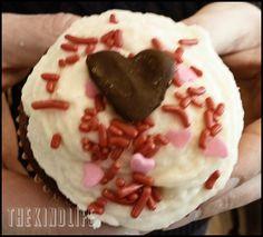 Valentine's Day Red Velvet Cupcakes #vegan