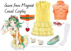 Gumi casual cosplay