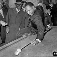 Martin Luther King, Jr. Playing Williams favorite game :)