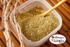 Aromas e Sabores: Zaatar - mistura de especiarias árabe