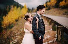 Keely + Aaron's Intimate Fall Colorado Wedding : David Matthew Fiser's