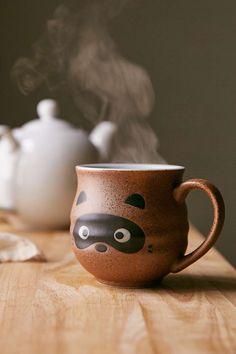 Raccoon Face Mug