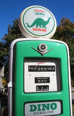 Dino Gas Pump - photo by catchestheligh