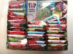 Kit Kats Japan NESTLES BASKINS ROBBINS 40P GIFT SET  kitkats RARE VALENTINes #NESTLESJAPAN