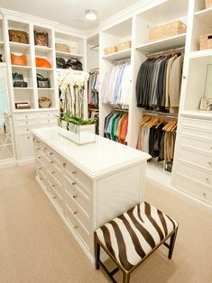 I would have to convert our spare bedroom to get a closet this big!