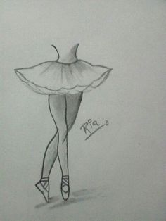 - - Best Picture For Dancing Drawings for kids For Your Taste You ar Girl Drawing Sketches, Girly Drawings, Art Drawings Sketches Simple, Pencil Art Drawings, Ballet Drawings, Dancing Drawings, Art Sketchbook, Ballerina Dancing, Ballerina Art