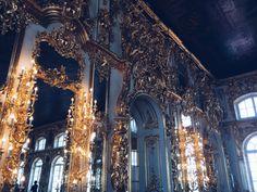 Catherine Palace, Tsarskoye Selo, Pushkin. St. Petersburg, Russia.