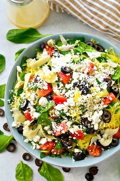 Greek salad gets a f