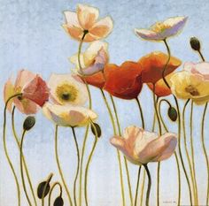 Just Being Poppies I, by Shirley Novak