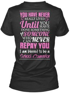 Discover Blessed To Be A School Psychologist Women's T-Shirt, a custom product made just for you by Teespring. Counseling Quotes, Counseling Office, Elementary School Counseling, Counseling Activities, Elementary Schools, Back 2 School, Too Cool For School, School Guidance Counselor, Professional School