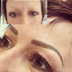 Semi permanent eyebrow tattoo based in Kent. Charmaine Harding permanent cosmetics. Permanent makeup